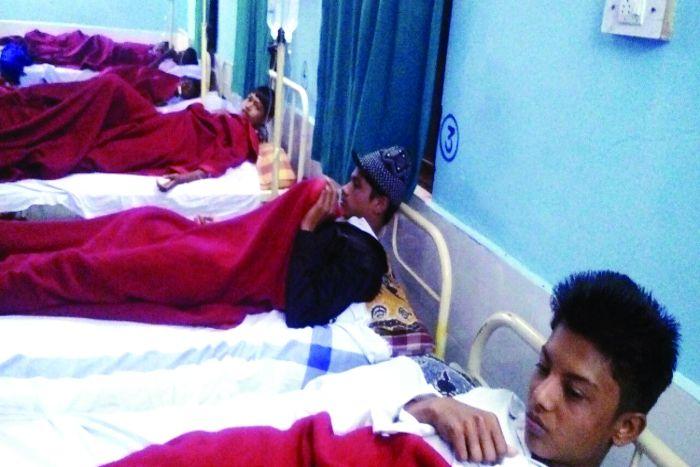रतनजोत के बीज खाने से बिगड़ी स्कूली बच्चों की तबियत, 7 पहुंचे अस्पताल