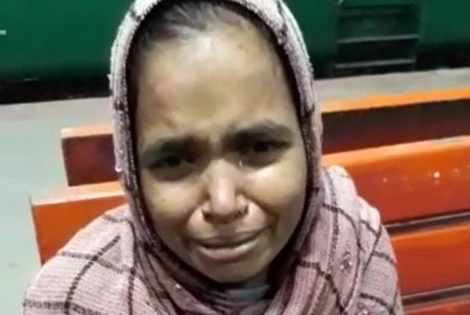 मां से बच्चा लेकर शालीमार ट्रेन में सवार हुई महिला देवबन्द में रोकी गई ट्रेन