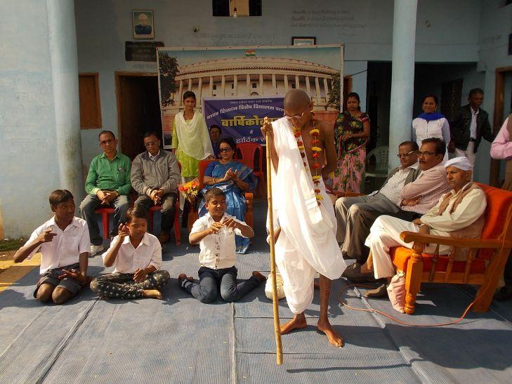 भारत दिव्यांग विशेष विद्यालय ने मनाया वार्षिक उत्सव