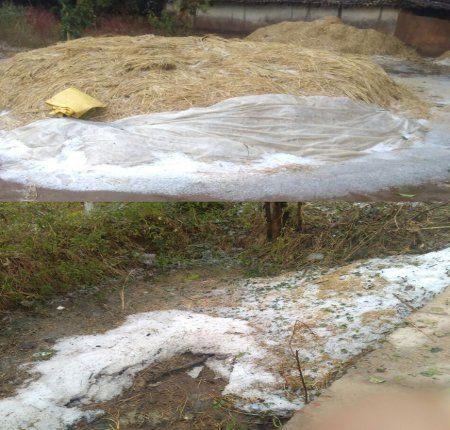 देखे VIDEO : सरगुजा में हुई बर्फ की बारिश, मौसम ने ली करवट और बढ़ गई ठंड