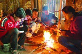 उत्तरी हवाओं ने फिजा में घोली सर्द ,कंपकपाने लगे लोग