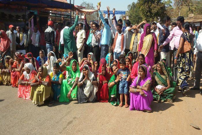 डिमांड पूरी नहीं हुई तो फूटा 105 गांव के ग्रामीणों का गुस्सा, आंदोलन की चेतावनी  दी