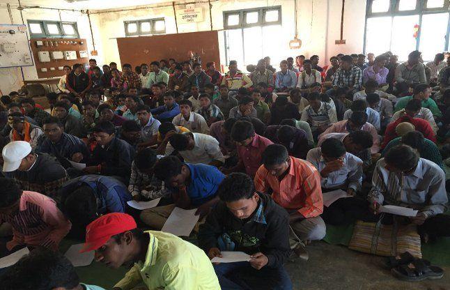 कैरियर मेले में 200 युवाओं का हुआ चयन, अब रायपुर में लेंगे प्रशिक्षण