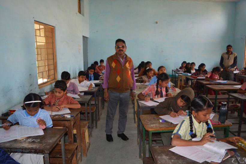 जेएनवी में चयन के लिए 7889 परीक्षार्थियों ने हल किया पर्चा