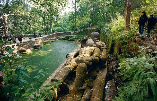 शयन मुद्रा में भगवान विष्णु, ये है शिवपुराण का रहस्यमयी पहाड़