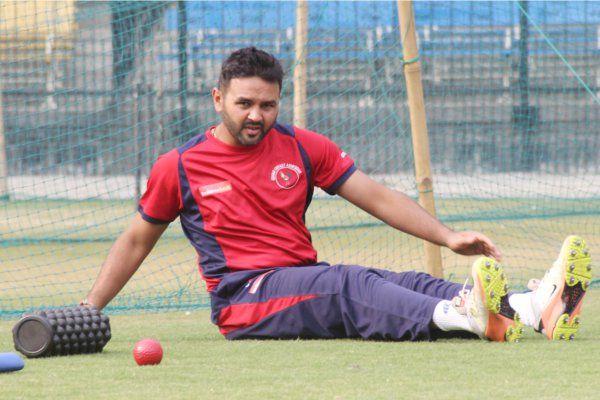 रणजी ट्रॉफी के लिए पहुंची टीम, गुजरात टीम ने बहाया मैदान में पसीना