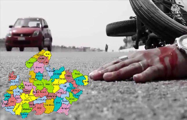 ताजा रिपोर्ट:सड़क हादसों में मप्र चौथे नंबर पर, रोज मर रहे औसतन 27 लोग