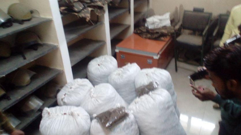 206 किलो गांजा सहित दो आरोपी गिरफ्तार
