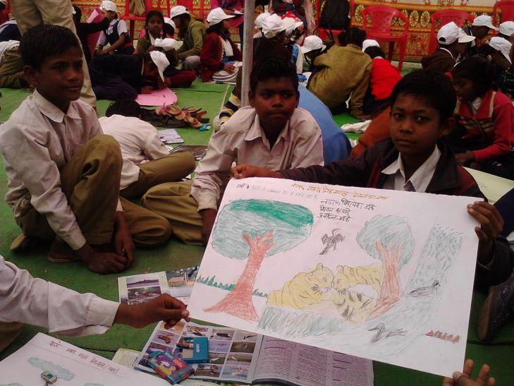 'अनुभूति' में मिली बच्चों को नई प्रेरणा