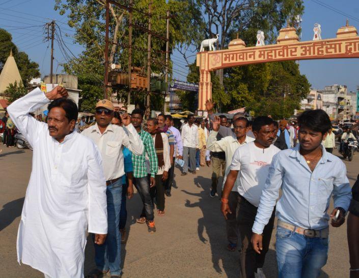 किसानों के साथ हो रहे अन्याय व शोषण के खिलाफ किसान क्रांति आंदोलन