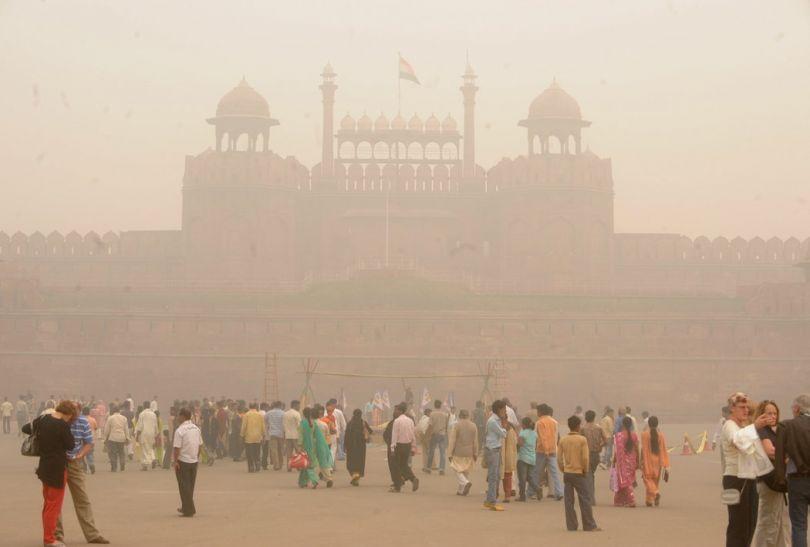Image result for प्रदूषित शहर
