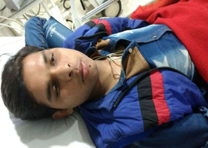 BREAKING सीआरपीएफ जवान की गोली से युवक घायल