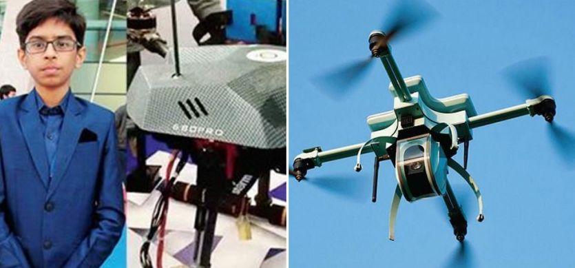 10वीं के छात्र ने बनाया ड्रोन, गुजरात सरकार से 5 करोड़ की डील