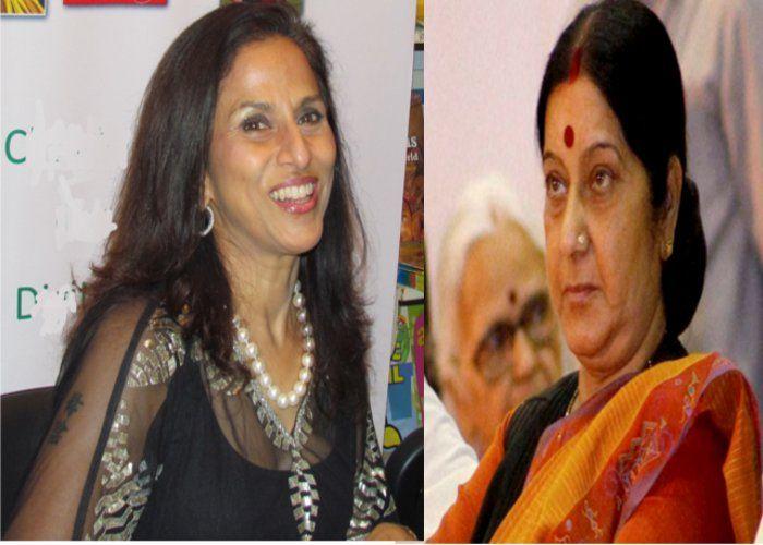 शोभा-डे ने सुषमा स्वराज को ट्वीट पर दी सलाह,तो लोगों को आया गुस्सा