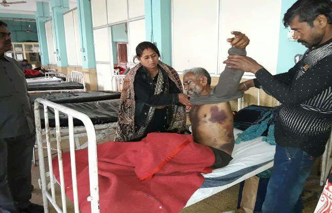 दर्दनाक मौत: सूदखोरों ने निर्वस्त्र कर वृद्ध की छाती पर पटक दिया पत्थर