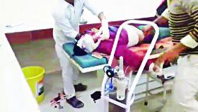 मुंगेली जिला अस्पताल की लापरवाही देखकर आप भी सिहर जाएंगे, ओटी टेबल से गिरकर मरीज की मौत