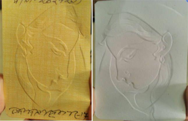 83 वर्षीय चित्रकार ने 5 मिनट में नाखुन से बना दी ऐसी अद्भुत आकृति