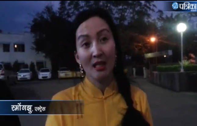 VIDEO: मंगोलियन एक्ट्रेस ने कहा, 'मुझे पसंद है इंडिया'
