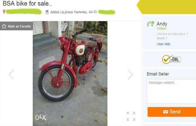 OLX पर बाइक देखी और धोखे से लेकर हुआ फरार, देखता ही रह गया मालिक