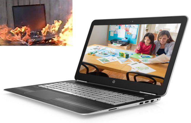 HP का बड़ा ऐलान, फट सकती है 101000 लैपटॉप की बैटरियां