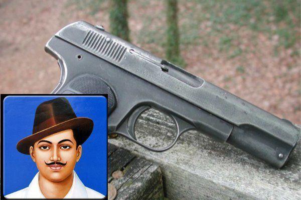 इंदौर में मिली शहीद भगत सिंह की पिस्टल, सेंडर्स की हत्या में की थी इस्तेमाल