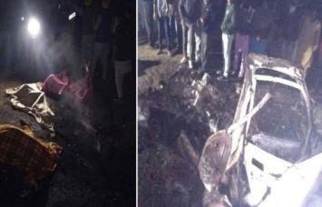 पंजाब-कांग्रेस प्रत्याशी की रैली के पास कार में विस्फोट, 3 की मौत