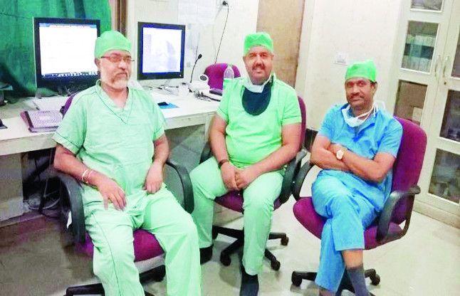 राजधानी के डॉक्टरों ने 'दिल' से किया दिल का इलाज, 4 चेहरों पर खिली मुस्कान