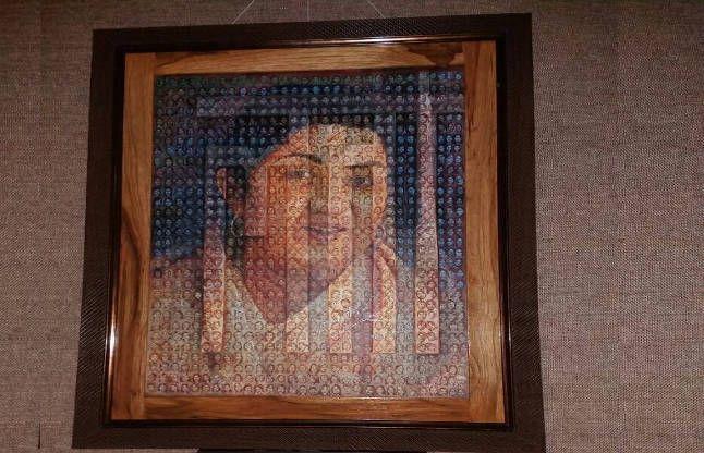 'लता दीदी' की इस तस्वीर में छिपी हैं मां सरस्वती और इनके 930 चेहरे