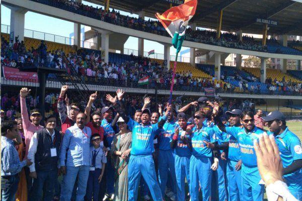 एक तरफा रहा ब्लाइंड क्रिकेट टी20 मुकाबला, इंडिया ने इंग्लैंड को दी 10 विकेट से मात