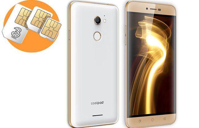 कूलपैड ने 9999 रुपए में लॉन्च किया 3 सिम लगने वाला 4जी फोन
