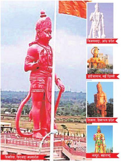 भारत के प्रसिद्ध हनुमान मंदिर में शुमार है सिमरिया छिंदवाड़ा का मंदिर