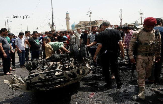 बगदाद : कार बम विस्फोट में 51 लोगों की मौत