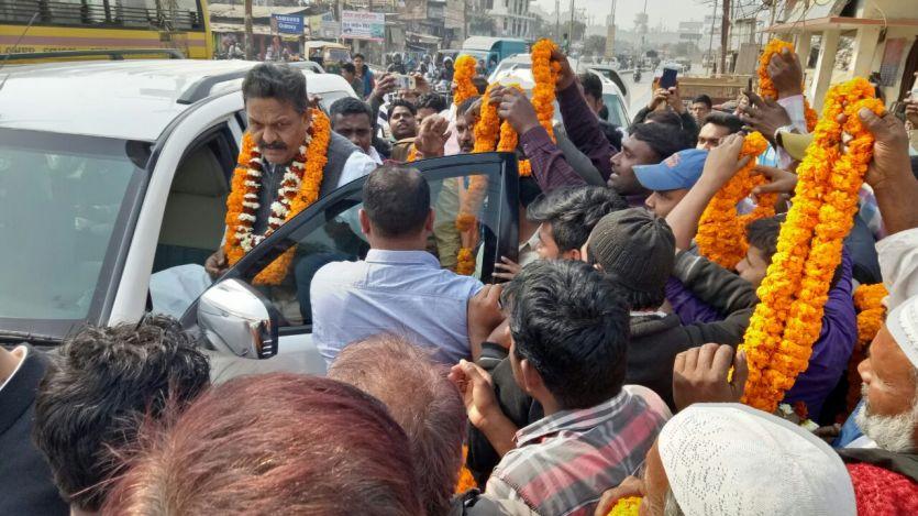 बाहुबली मोख्तार अंसारी के भाई अफजाल ने दिया विवादित बयान