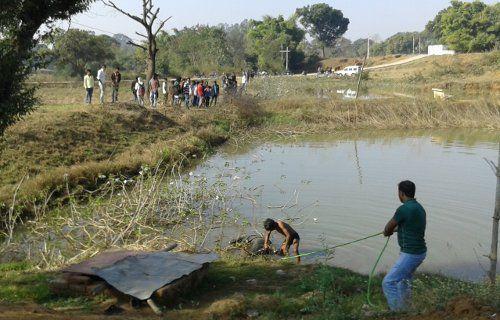 फार्म House के तालाब में मिली Korba के युवक की लाश, फैली सनसनी