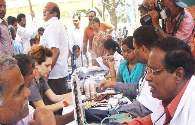 विश्व का सबसे बड़ा मेडिकल कैंप मुंबई में लगा