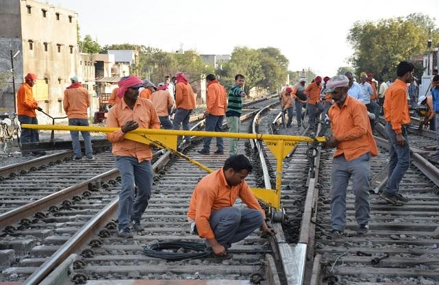 railway track repair