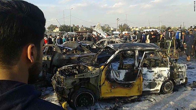 बगदाद में ISIS ने शिया भीड़ को बनाया गया निशाना; विस्फोट में 52 की मौत