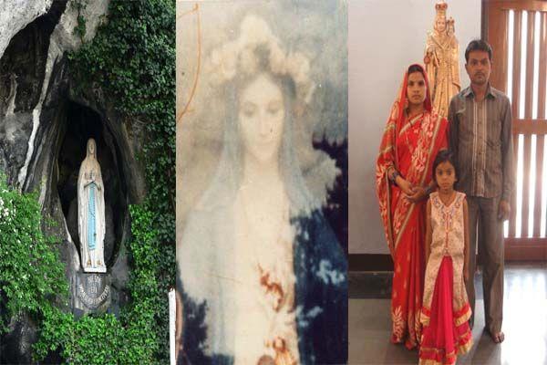 मदर मैरी का चमत्कार, मासूम के दिल की बिमारी हो गई गायब