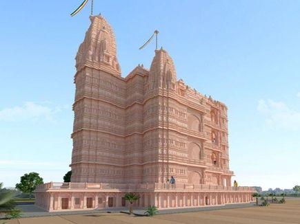 यहां बन रहा इंडिया का पहला 5 मंजिला मंदिर, 50 करोड़ रुपए होंगे खर्च