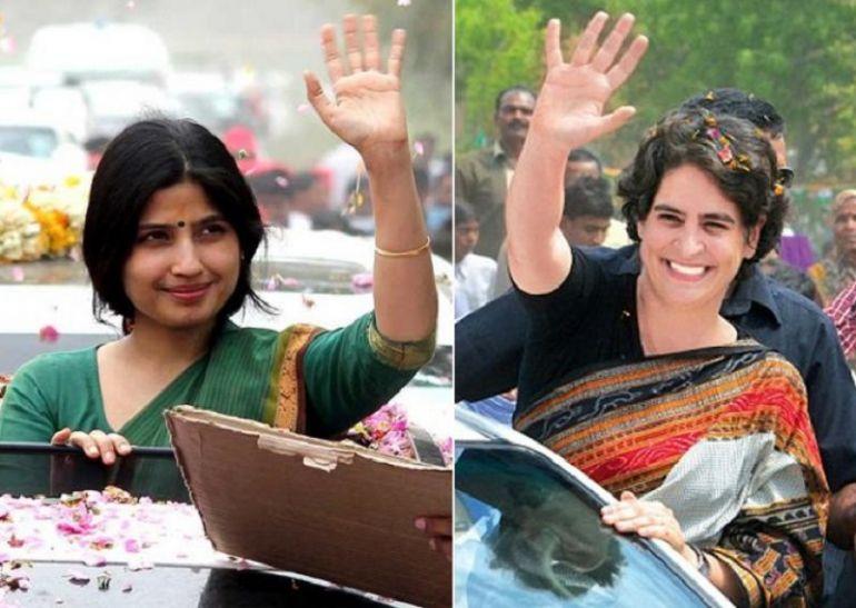 यूपी के आजमगढ़ में विपक्ष पर एक साथ वार करेंगी डिंपल और प्रियंका