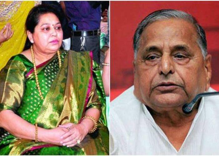 Love Story Of Mulayam Singh Yadav And Sadhna Gupta Up Election 2017 News In  Hindi - अस्पताल से शुरू हुूई थी मुलायम-साधना की प्रेम कहानी | Patrika News