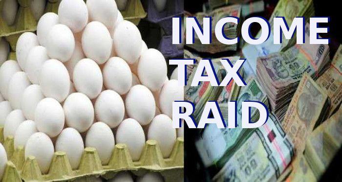अंडे के ठेले पर इंकम टैक्स का छापा, लाखों का टर्नओवर