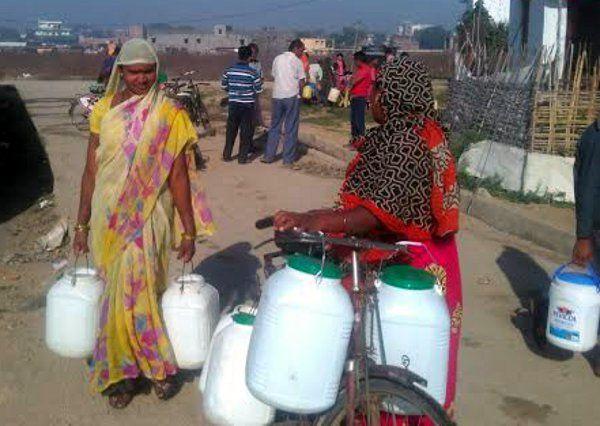 जलसंकट : आठ दिनों के अंतराल में एक बार पेयजल सप्लाई