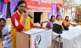 महिला दिवस पर उठी आवाज, महिलाओं के लिए निर्धारित हो 50 प्रतिशत कोटा