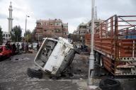 दमिश्क दोहरे बम विस्फोट में अब तक 74 मरे