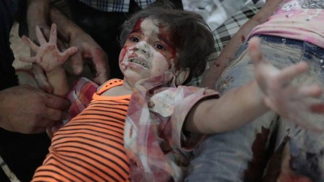 2016 सीरियाई बच्चों के लिए रहा सबसे बुरा साल,652 ने गंवाई जान
