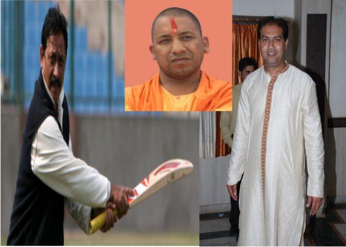 योगी के मंत्रीमंडल में 'बल्लेबाजी' करेंगे दो खिलाड़ी