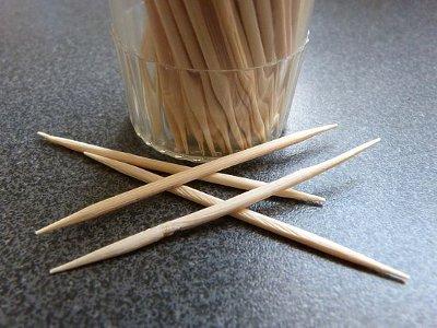 Toothpicks harms your teeth