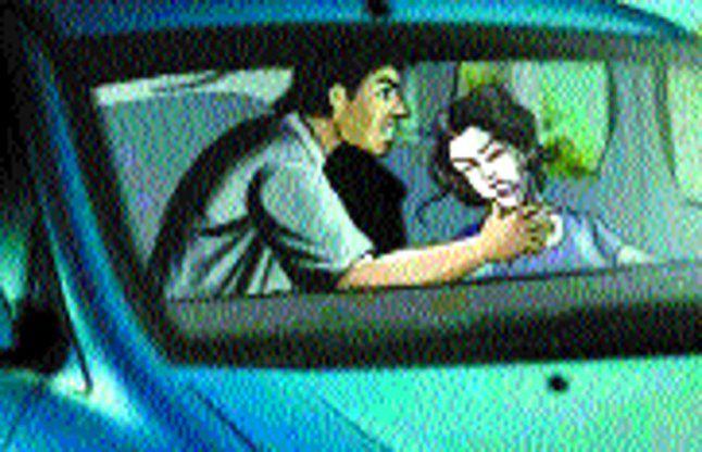 युवती के अपहरण की कोशिश