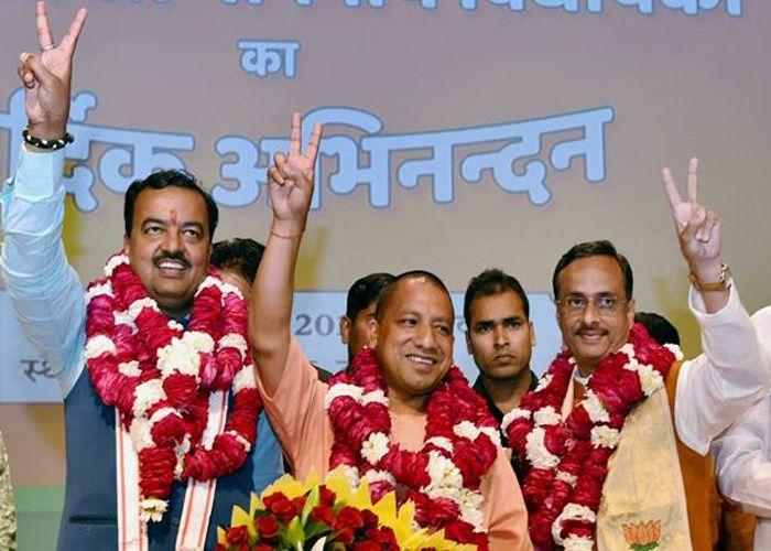 UP CM Mahant Yogi Adityanath Ordered To Provide Offices To Deputy ...